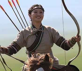 Égérie MCM - Cavalière mongole