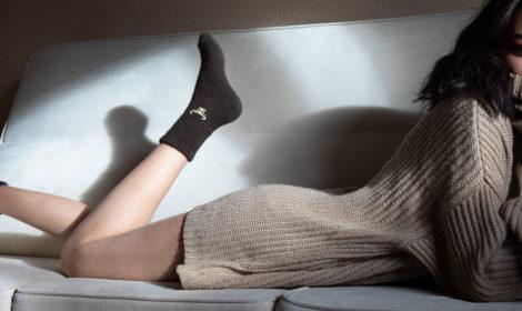 Confort des chaussettes hyper chaudes en poil de yack
