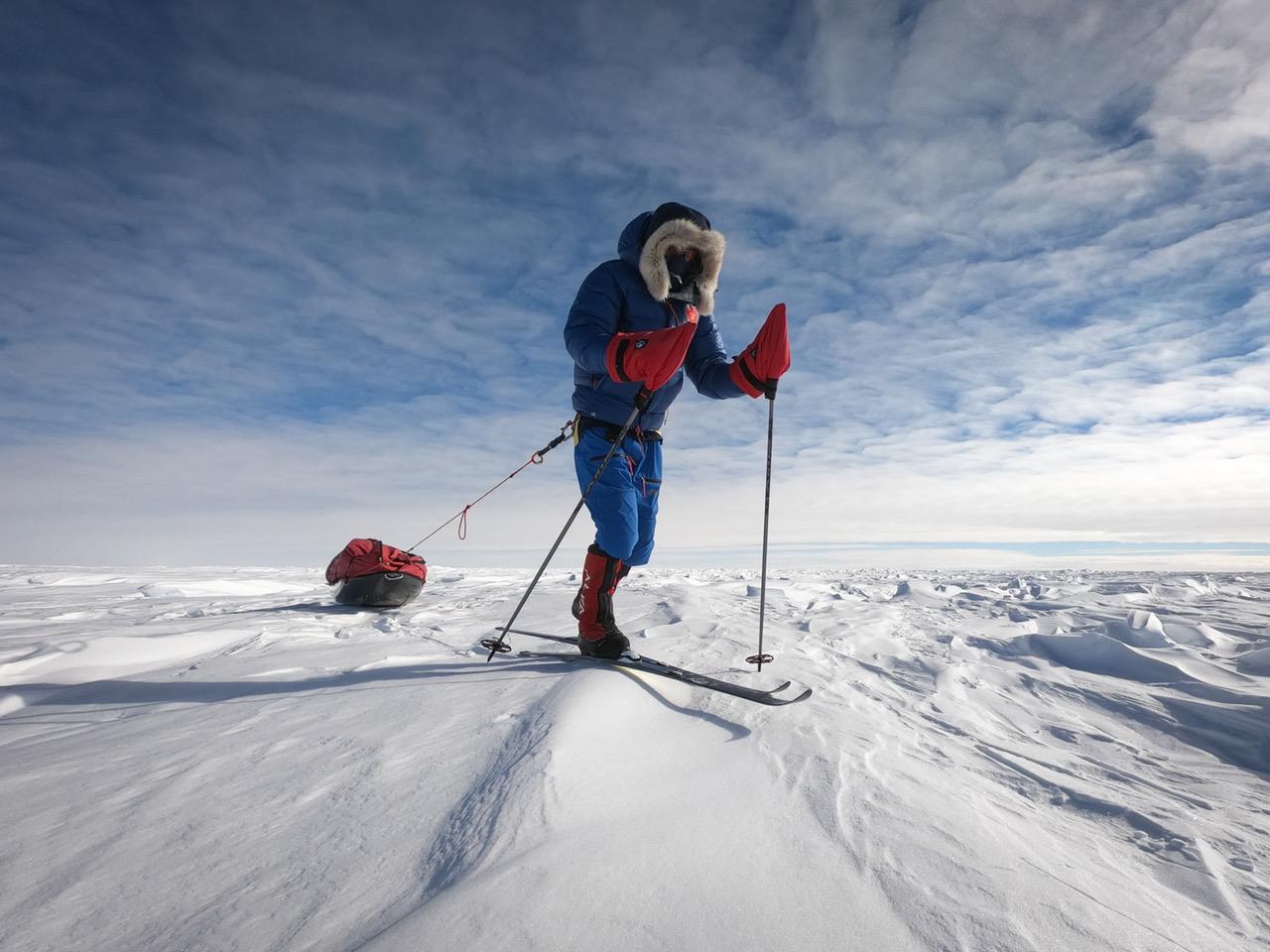 Matthieu Tordeur, l'explorateur plus jeune au monde à avoir rallié le pôle Sud ensolitaire