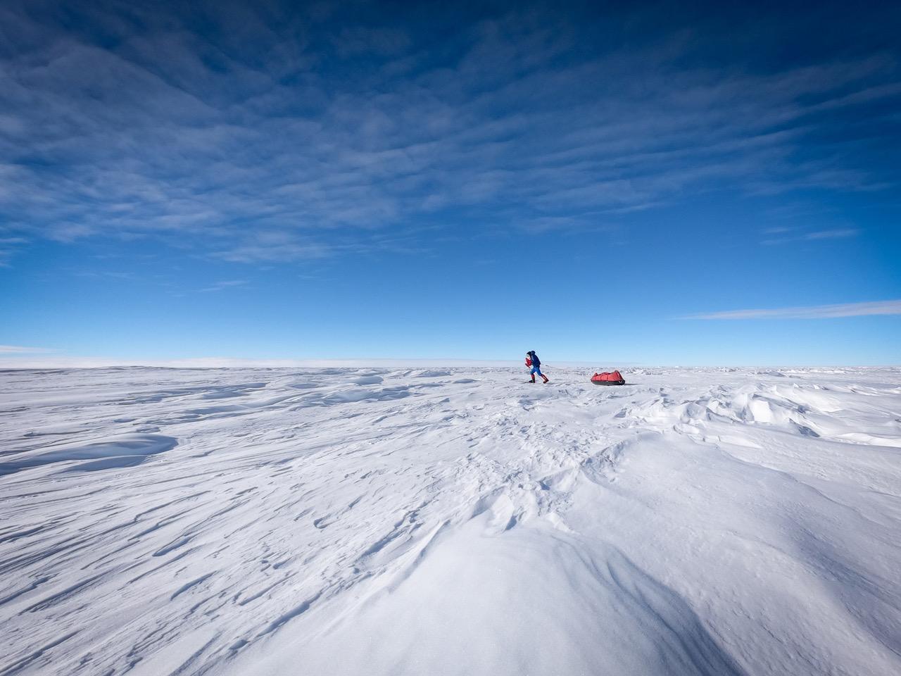 Matthieu Tordeur, en route vers le Pôle Sud