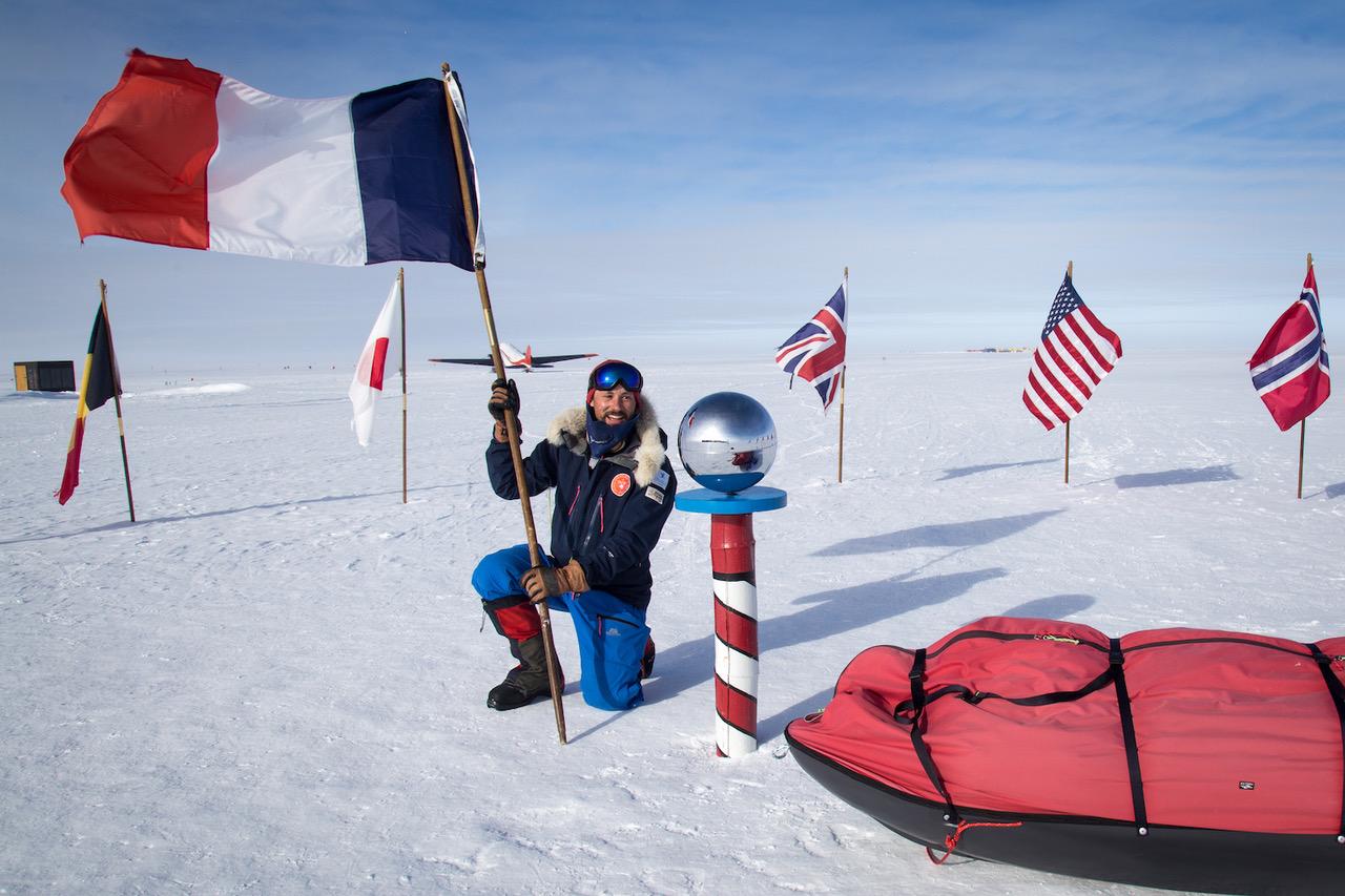 Matthieu Tordeur, Objectif Pole Sud réussi