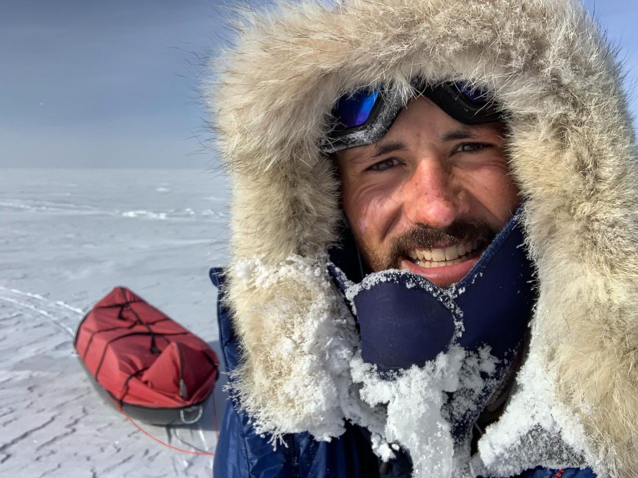 Matthieu Tordeur, aventurier et conférencier membre de la Société des explorateurs français